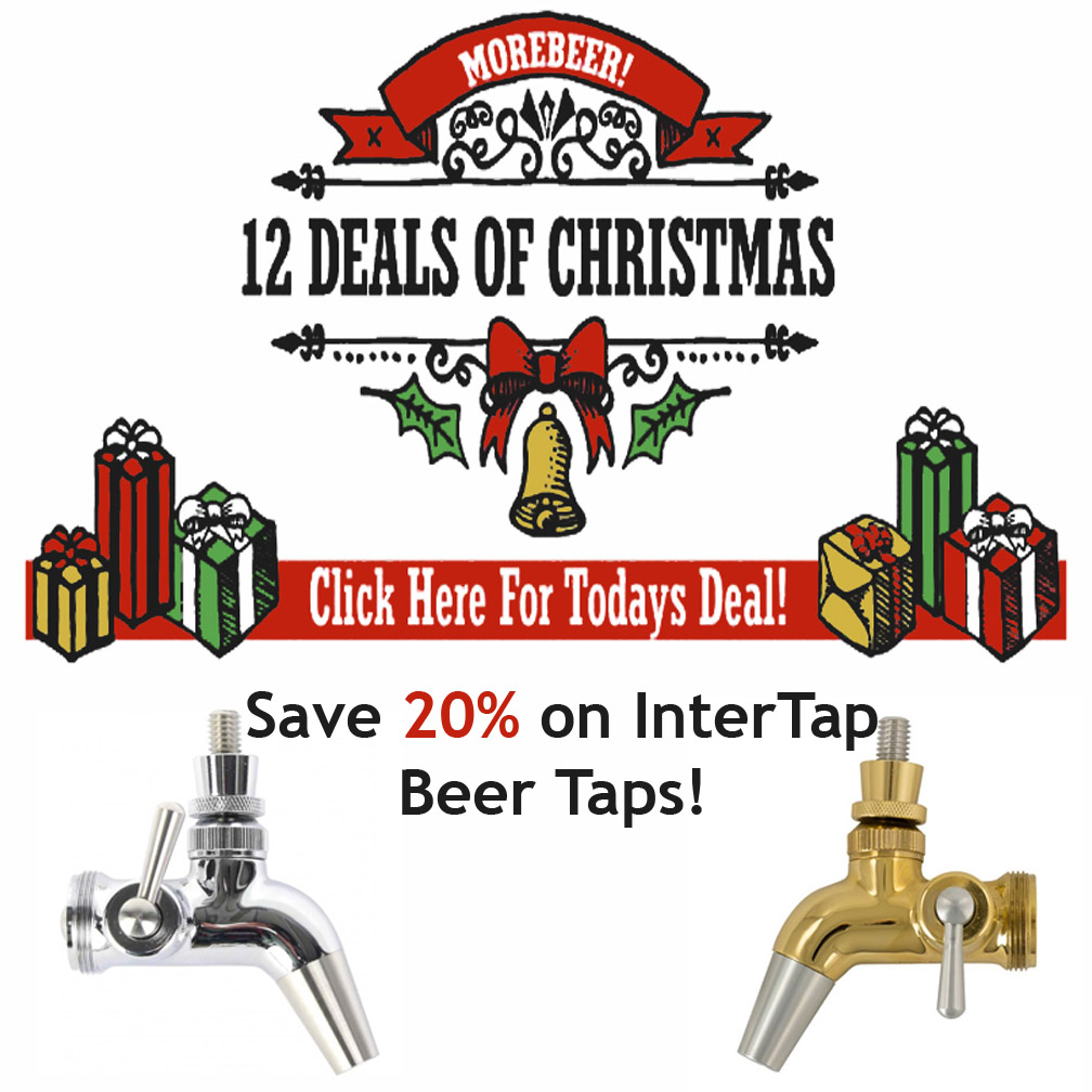 Today Only, Save 20% on Intertap Beer Tap Faucets Coupon Code