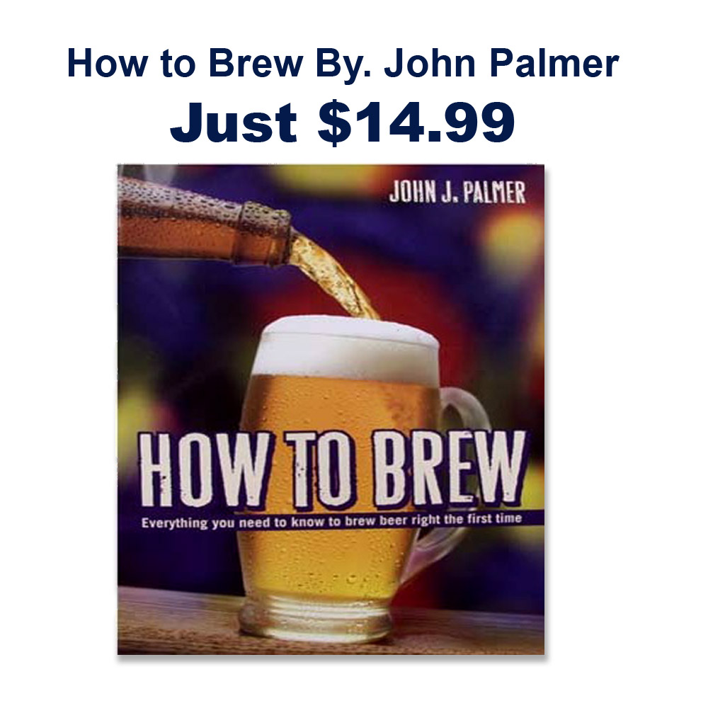 How to Brew By John Palmer On Sale with MoreBeer.com Promo Code Coupon Code