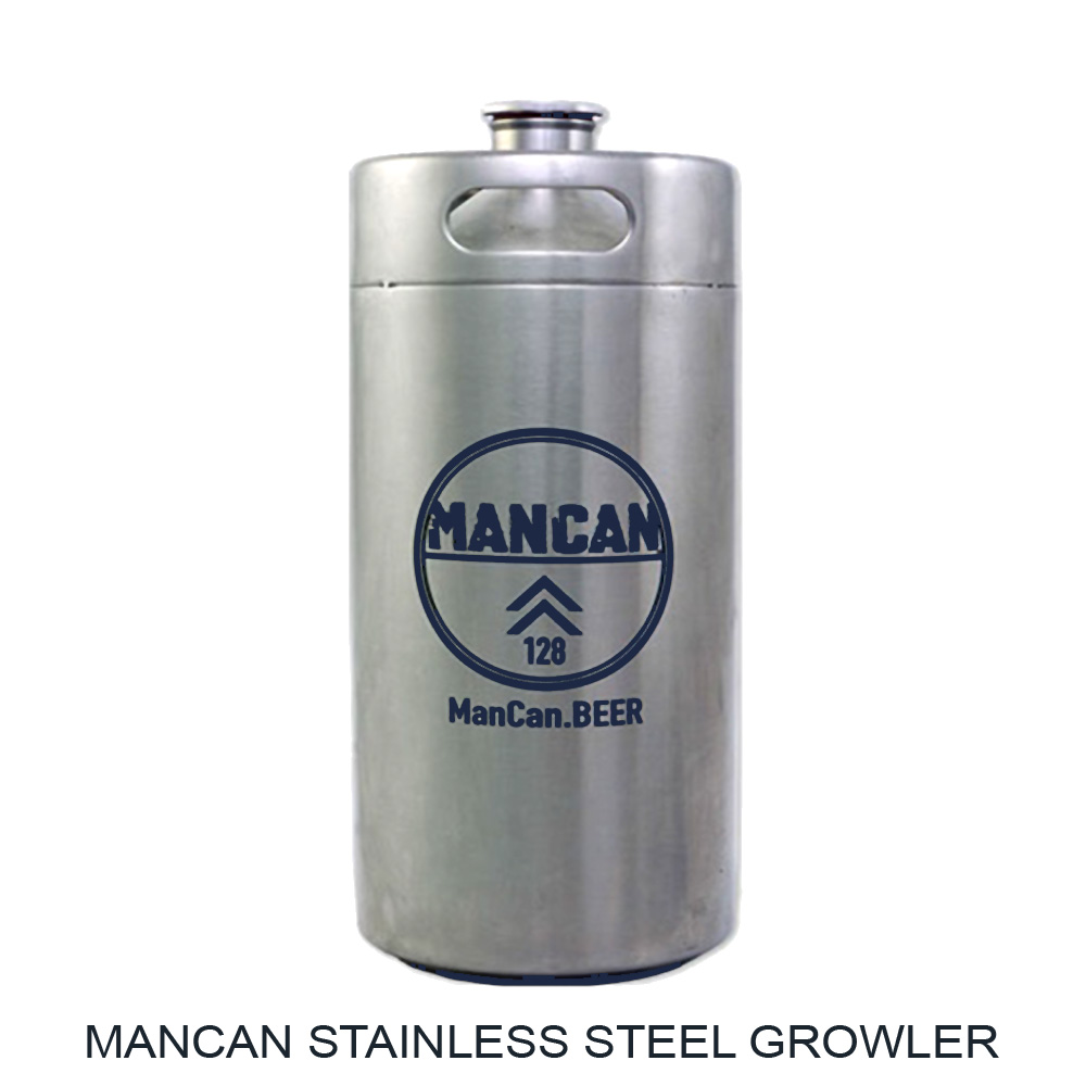 Save $8 On A Large ManCan Stainless Steel Growler Coupon Code