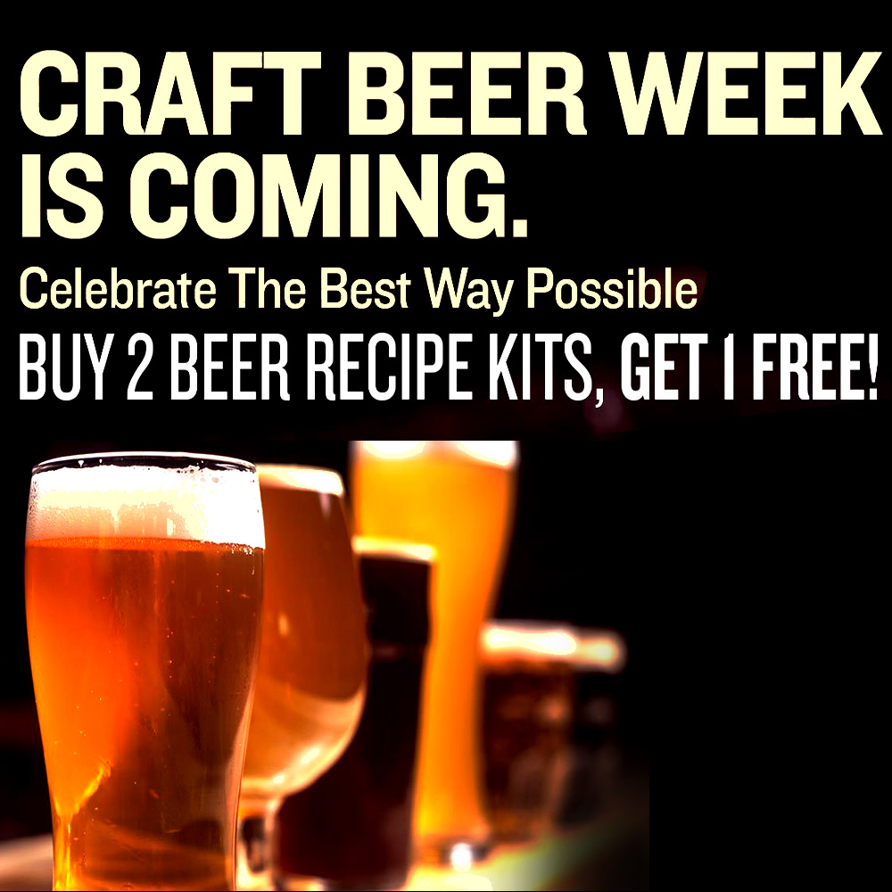 BUY TWO BEER RECIPE KITS AND GET ONE FREE AT NORTHERN BREWER Coupon Code