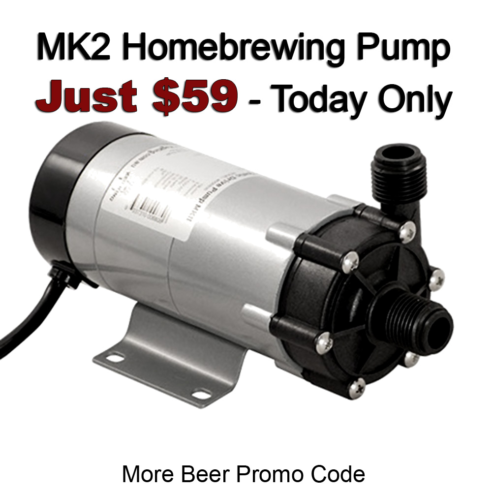 Get a MK2 Homebrewing Pump for Just $59 and Free Shipping! Coupon Code