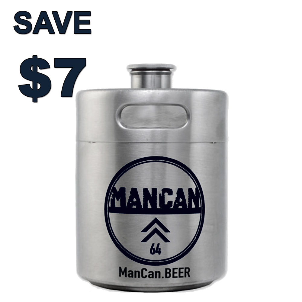 Save $7 On A Stainless Steel Growler with this More Beer Promo Code Coupon Code