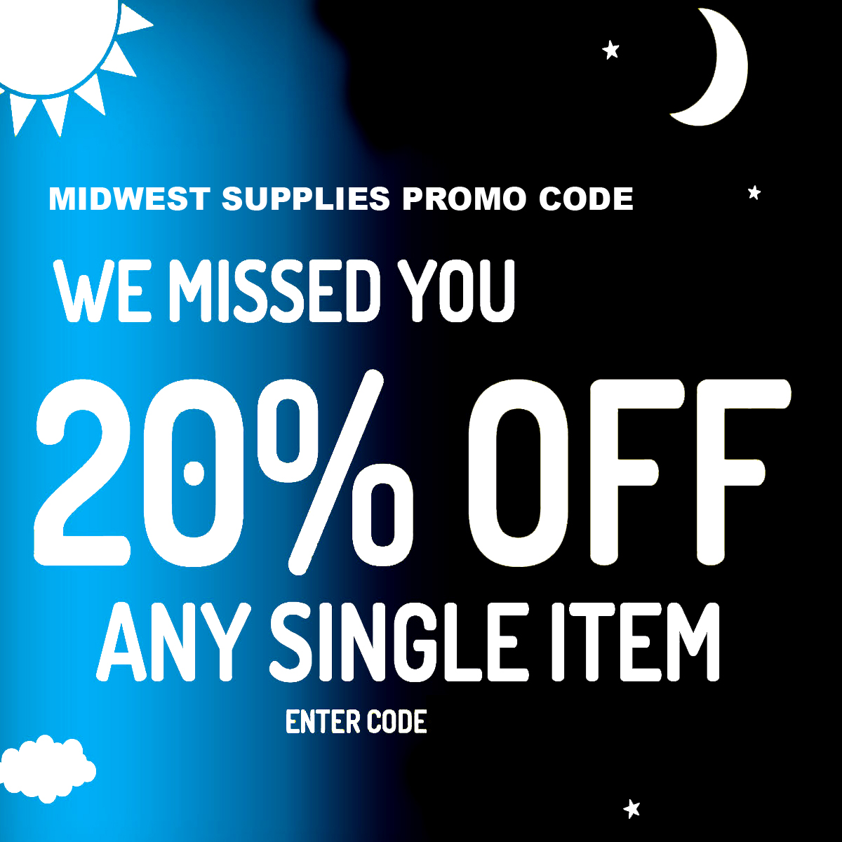 Midwest Supplies Save 20% On A Single Item With This MidwestSupplies.com Promo Code Coupon Code