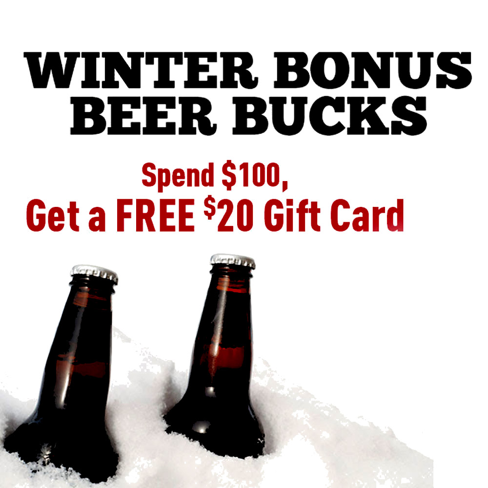 Get a $20 Home Brewing Gift Card With A $100+ Purchase Coupon Code