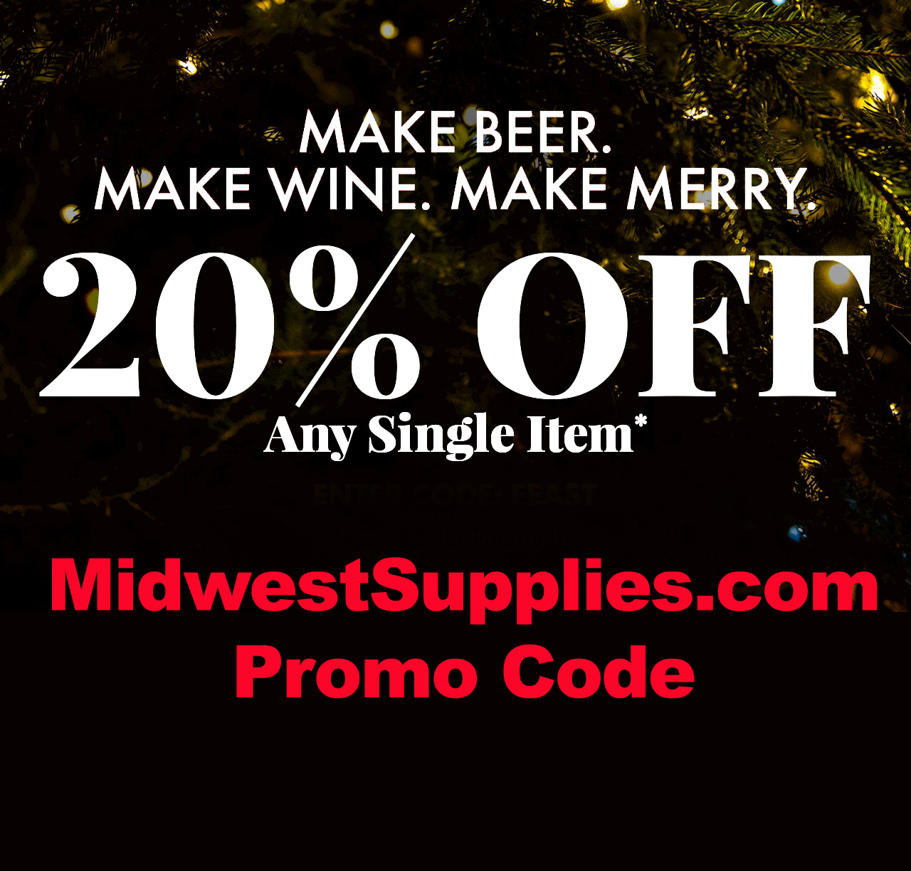 Midwest Supplies Save 20% On A Single Item at Midwest Supplies With this MidwestSupplies.com Promo Code Coupon Code