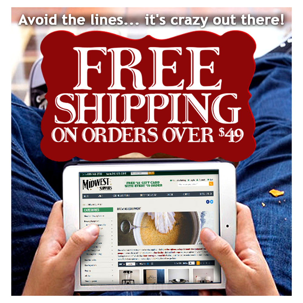 GET FREE SHIPPING ON ORDERS OVER $49 at Midwest Supplies Coupon Code