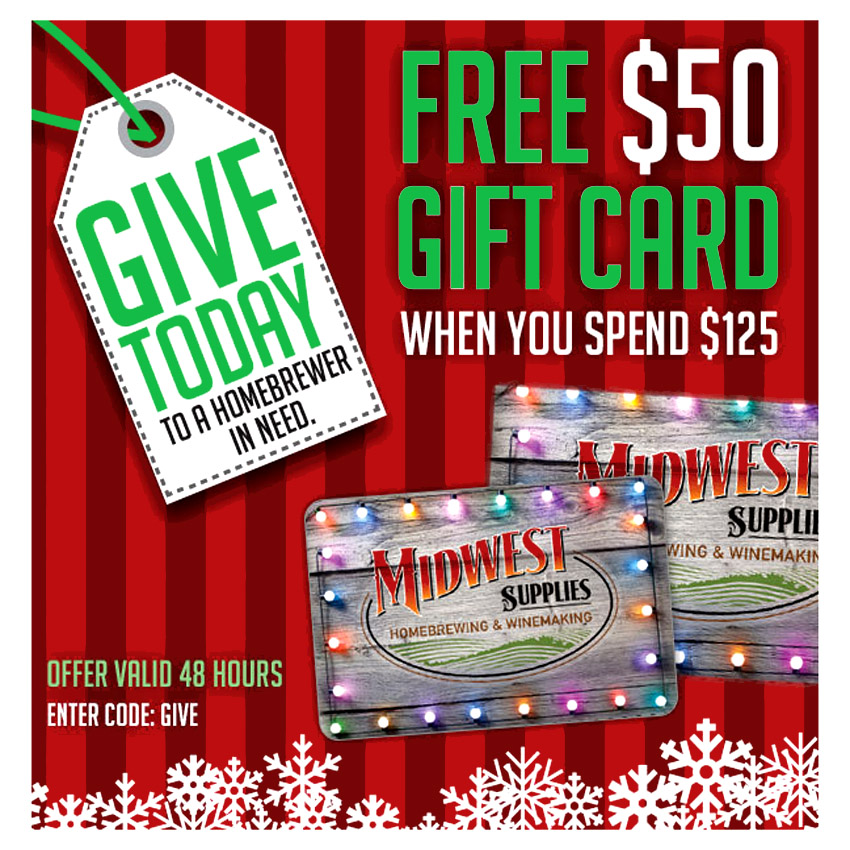Get a $50 Giftcard When You Spend $125 Coupon Code
