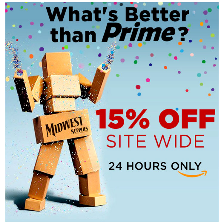 Save 15% at Midwest Home Brewing Supplies Coupon Code