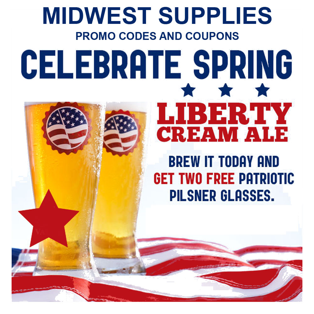 Buy a Liberty Cream Ale Beer Kit and Get a Free Glass Coupon Code