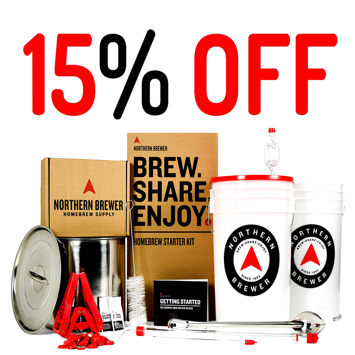 Midwest Supplies Use Midwest Supplies Promo Code BSE and Save 15% On A Homebrewing Kit Coupon Code