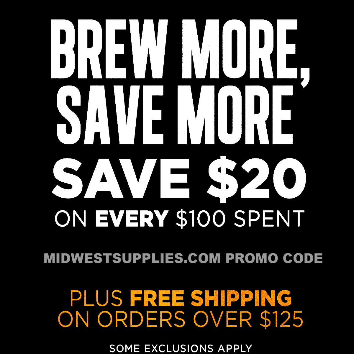 Midwest Supplies Save $20 on a $100 Purchase with this MidwestSupplies.com Promo Code Coupon Code