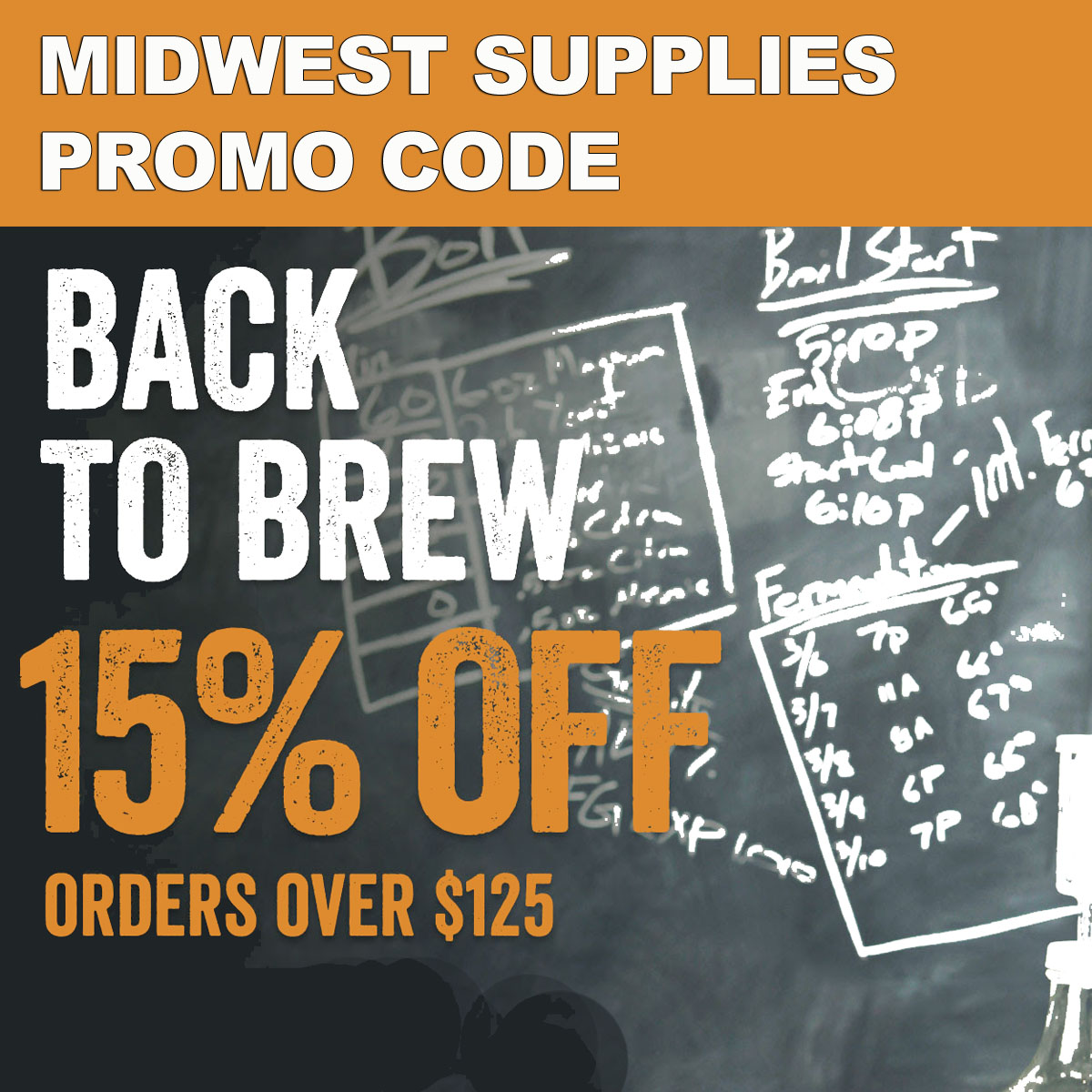 Midwest Supplies Save 15% On Orders Over $125 at Midwest Supplies with this MidwestSupplies.com Promo Code Coupon Code