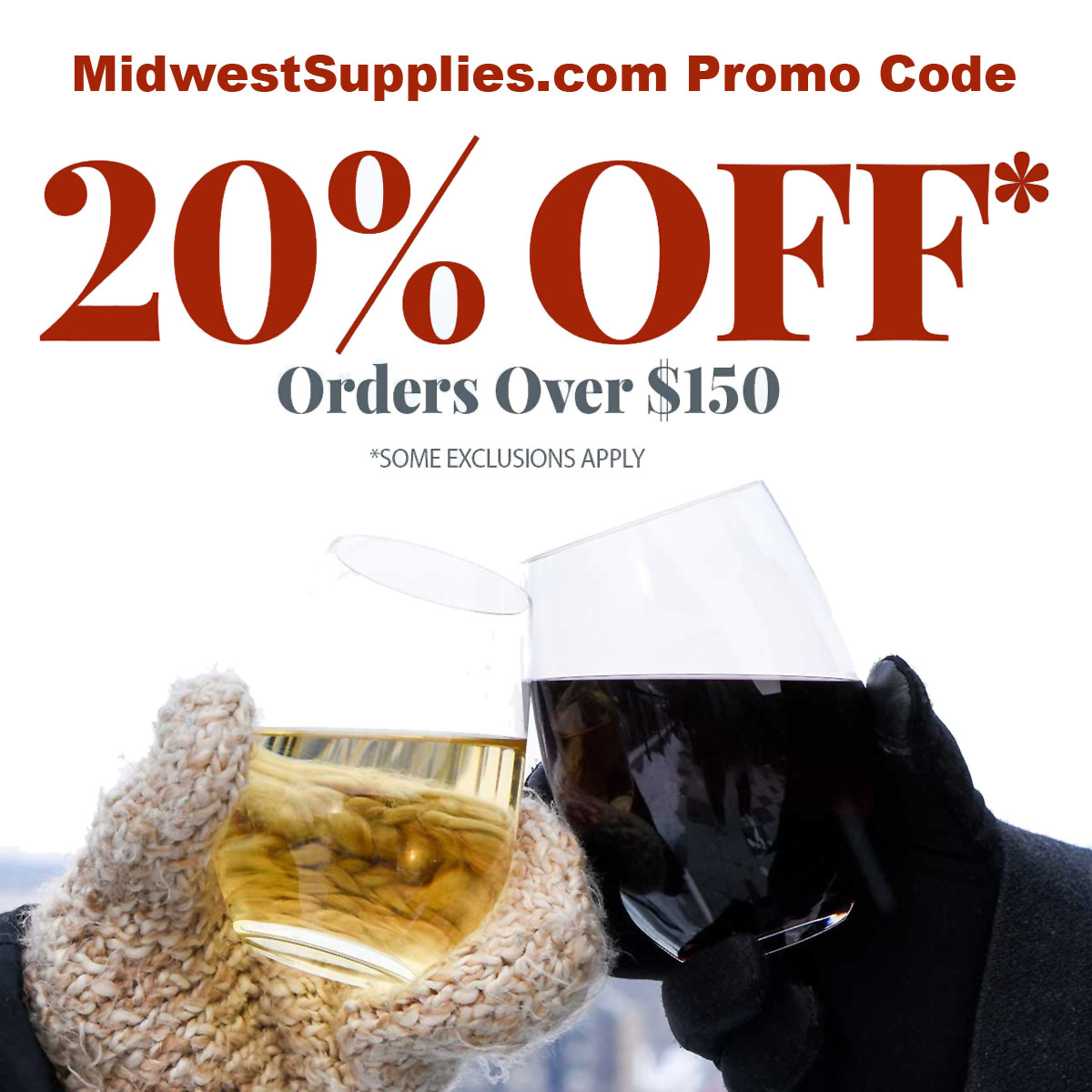 Midwest Supplies Save 20% On Purchases Over $150 at Midwest Supplies with this MidwestSupplies.com promo code! Coupon Code