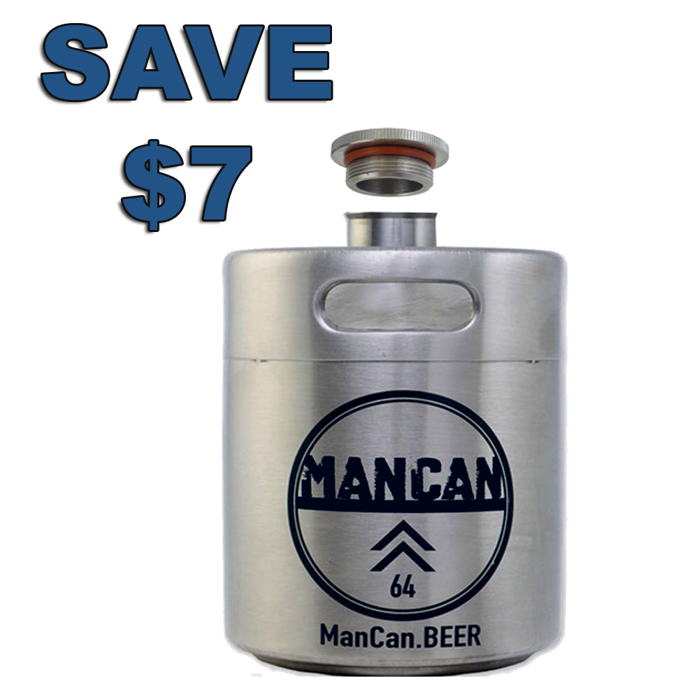 Save $7 On A Stainless Steel Mini Keg with this MoreBeer.com Promo Code Coupon Code