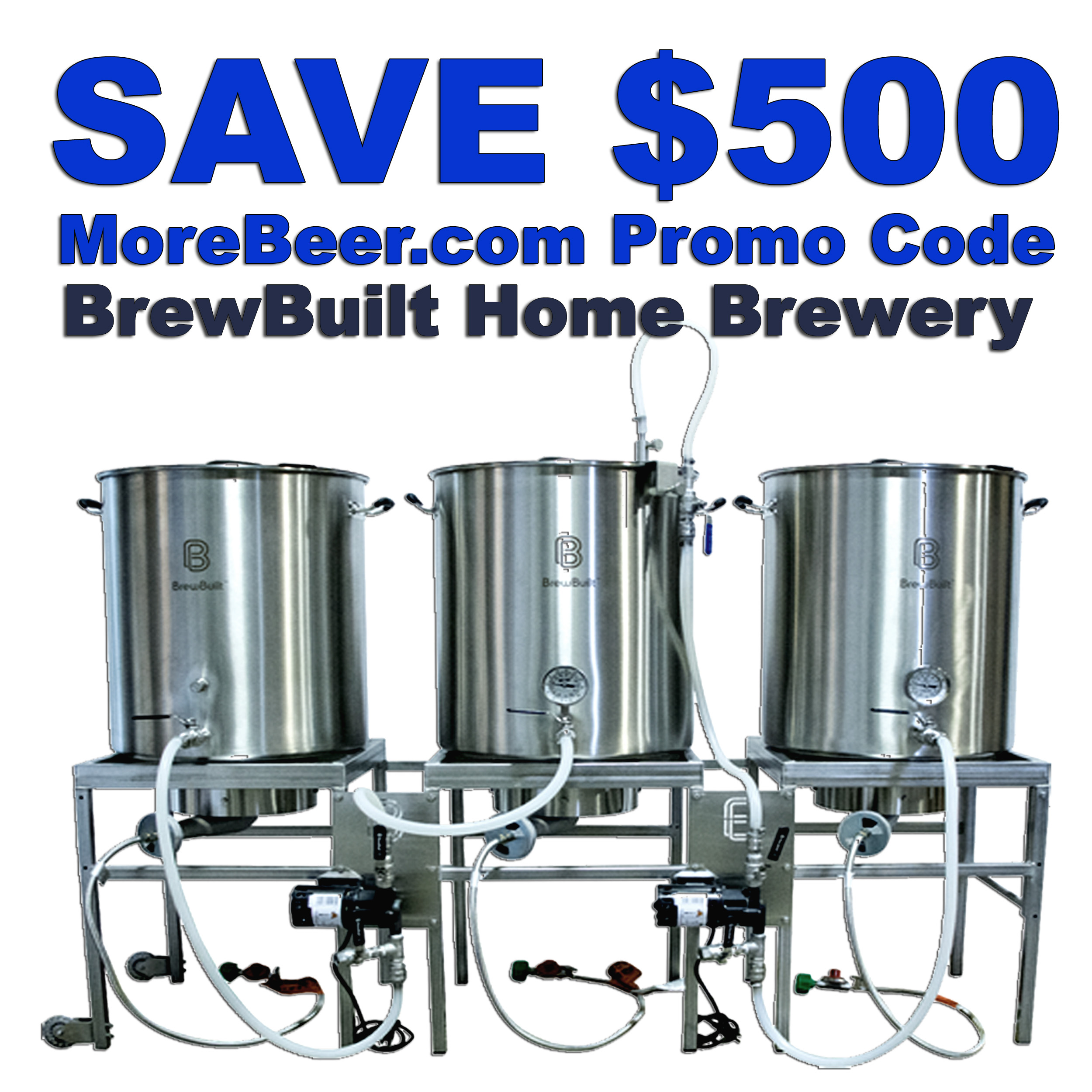 Save $500 On A BrewBuilt Home Beer Brewing Brewery Coupon Code