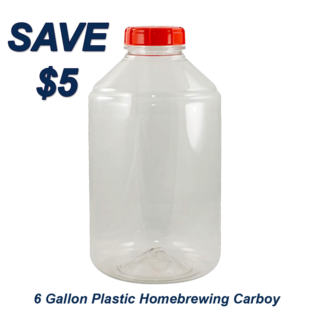 Save $5 On A More Beer Fermonster 6 Gallon Plastic Carboy Promo Codes