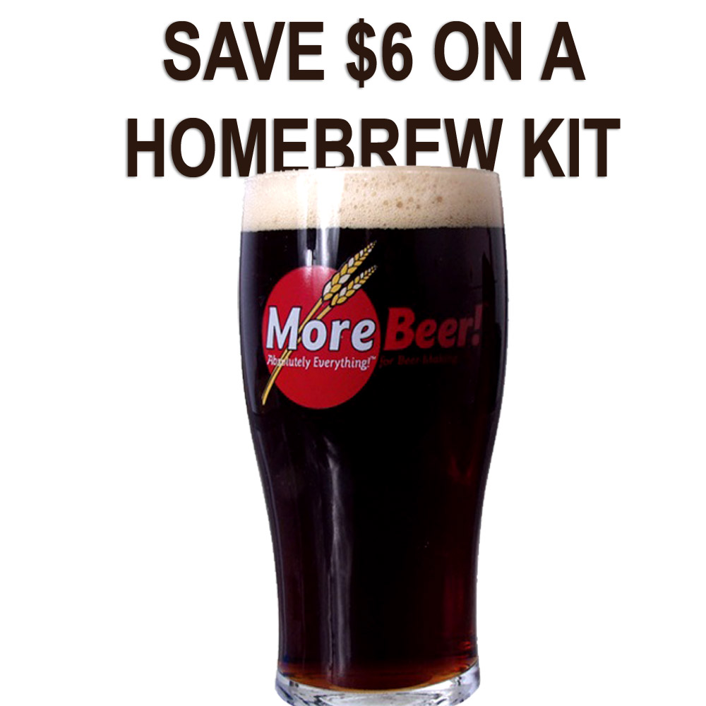 Save $6 On A MoreBeer Bock Extract Beer Homebrew Kit Coupon Code