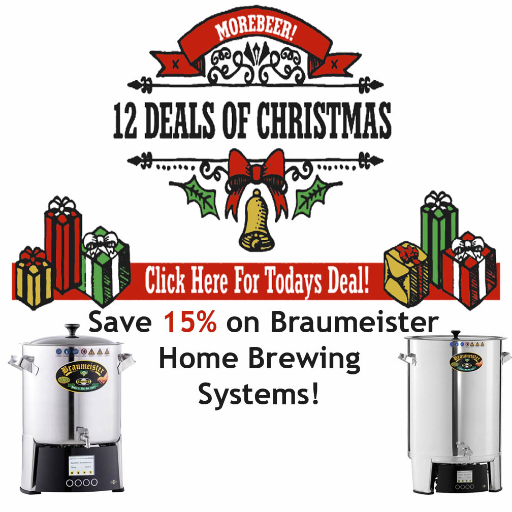Save 15% on Braumeister Home Brewing Systems Coupon Code