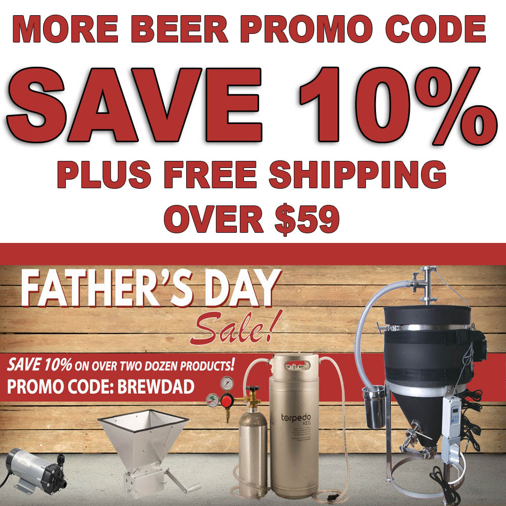 Save 10% On MoreBeer.com's Most Popular Products Coupon Code
