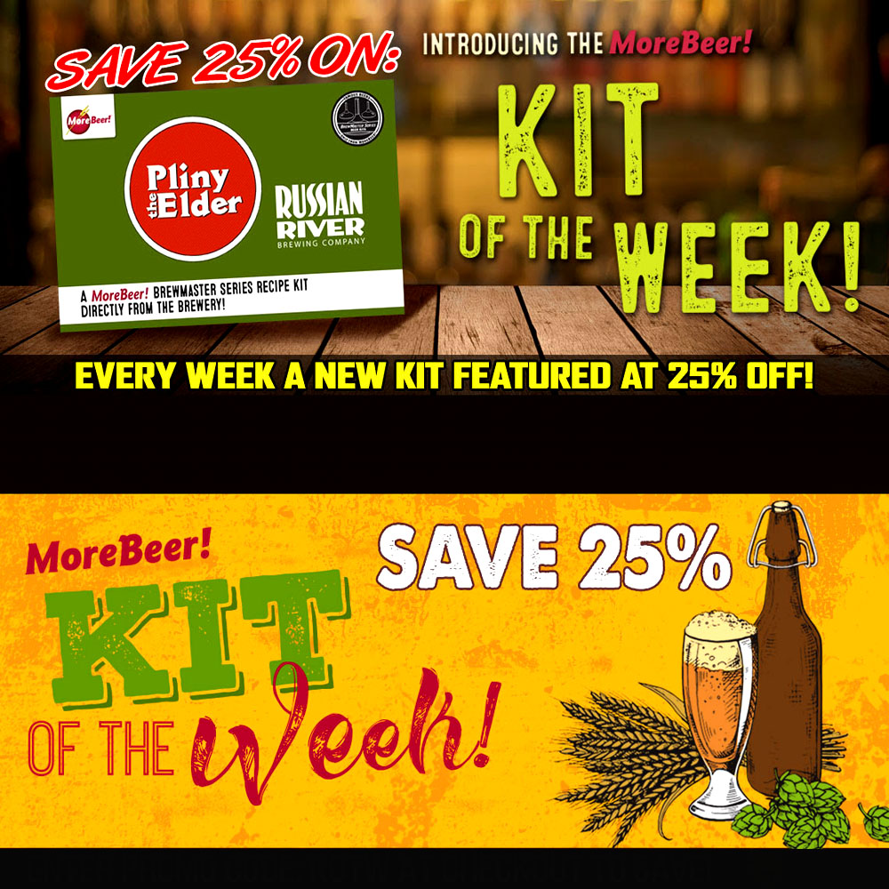 Save 25% On the Famous More Beer Pliny the Elder Beer Kits Coupon Code