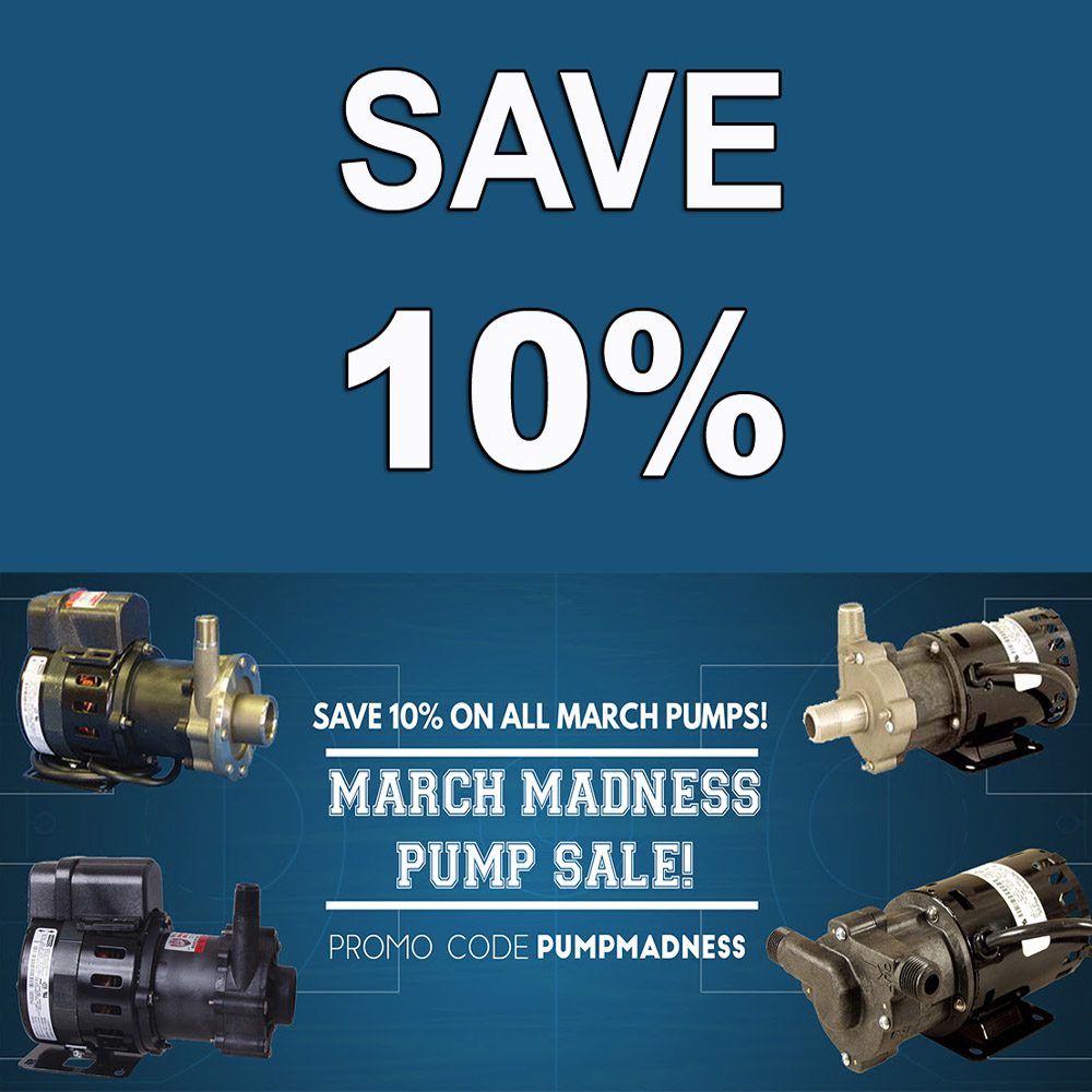 Save 10% On Home Brewing Pumps Coupon Code