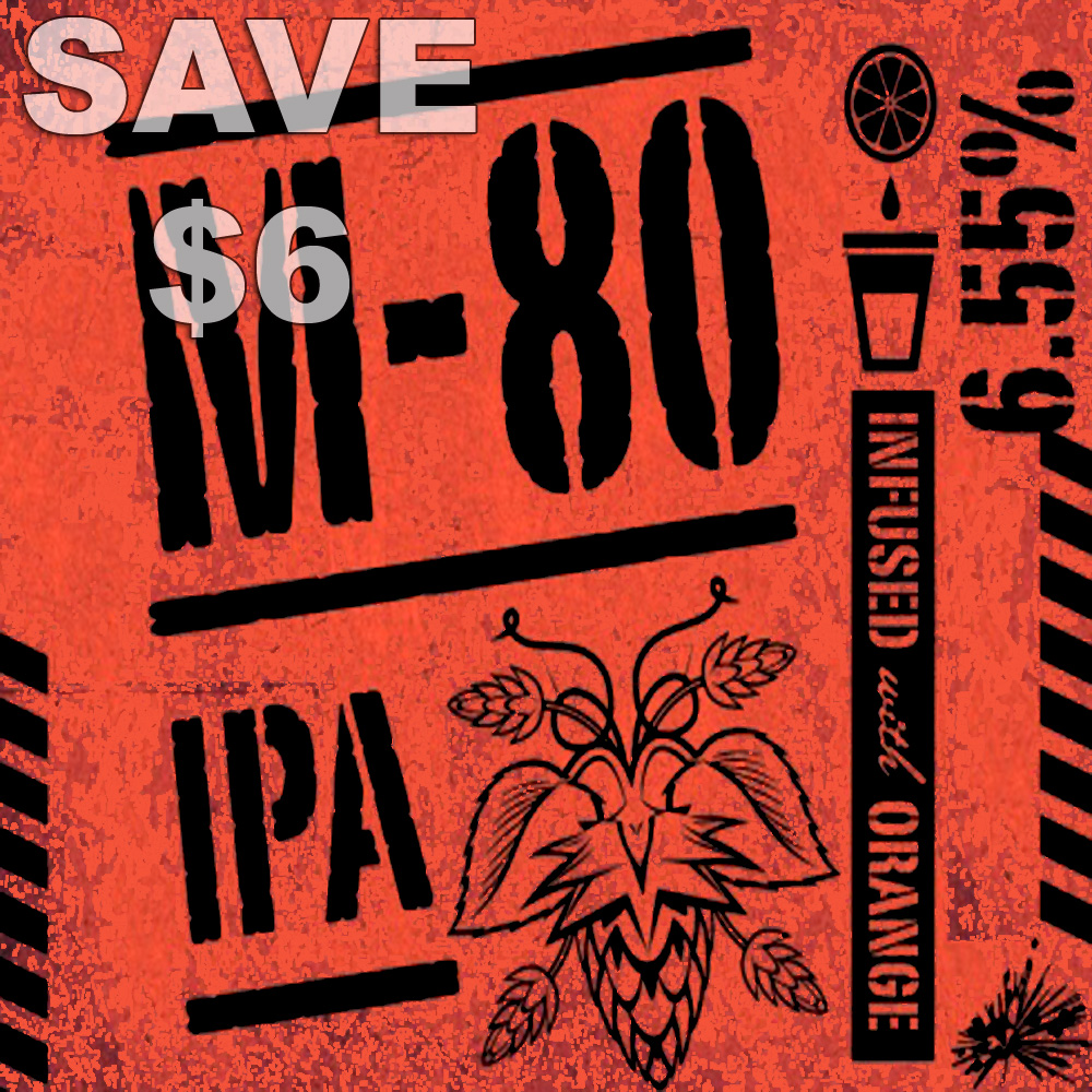 M-80 IPA Home Brewing Recipe Kit - Save $6 With MoreBeer Promo Code Promo Codes