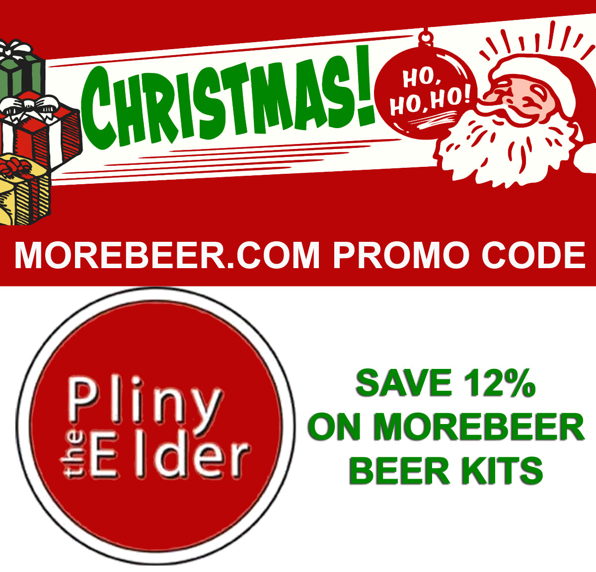 Save 12% On All MoreMore.com Home Brewing Beer Recipe Kits Coupon Code