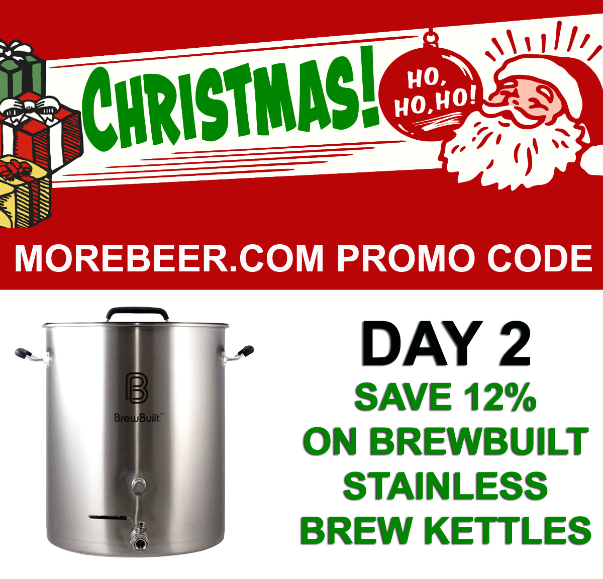 Save 12% On Brew Built Home Brewing Kettles Coupon Code