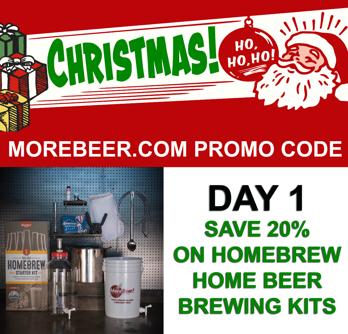 Save 20% On Homebrewing Starter Kits With This MoreBeer.com Promo Code Coupon Code
