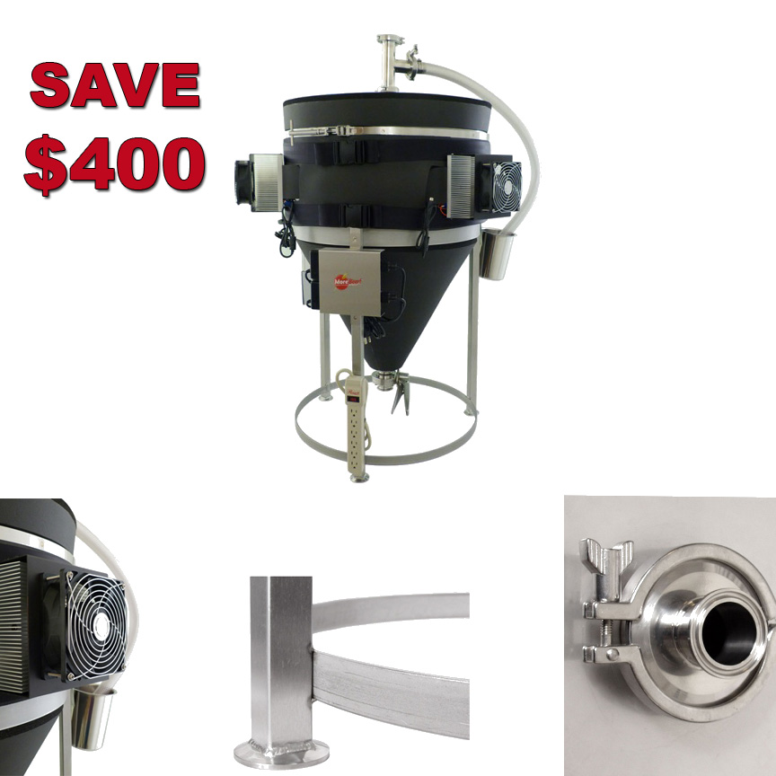 Save $400 on a Temperature Controlled Stainless Steel Conical Fermenter Coupon Code
