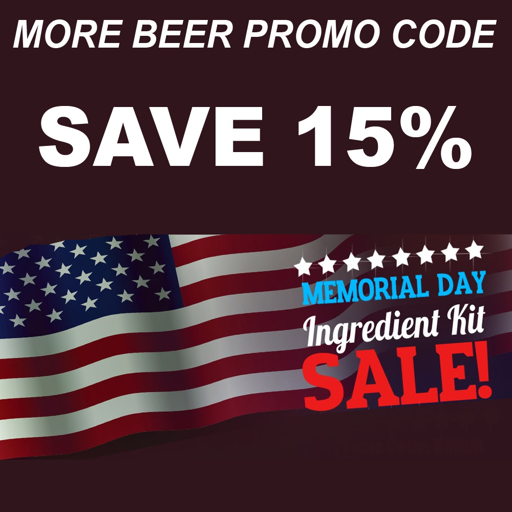 Save 15% On Select More Beer Home Brewing Kits Coupon Code