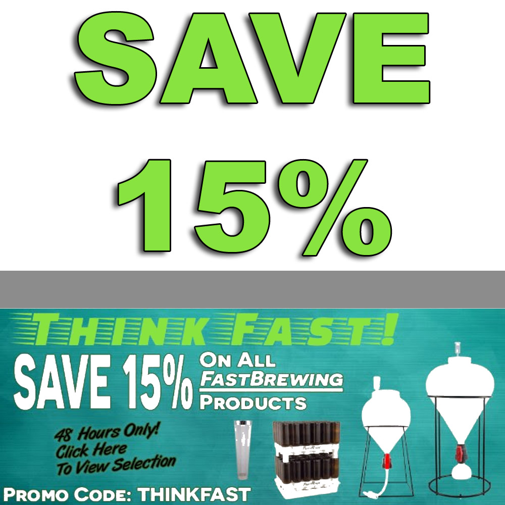 Save 15% On All FastBrewing Products Coupon Code