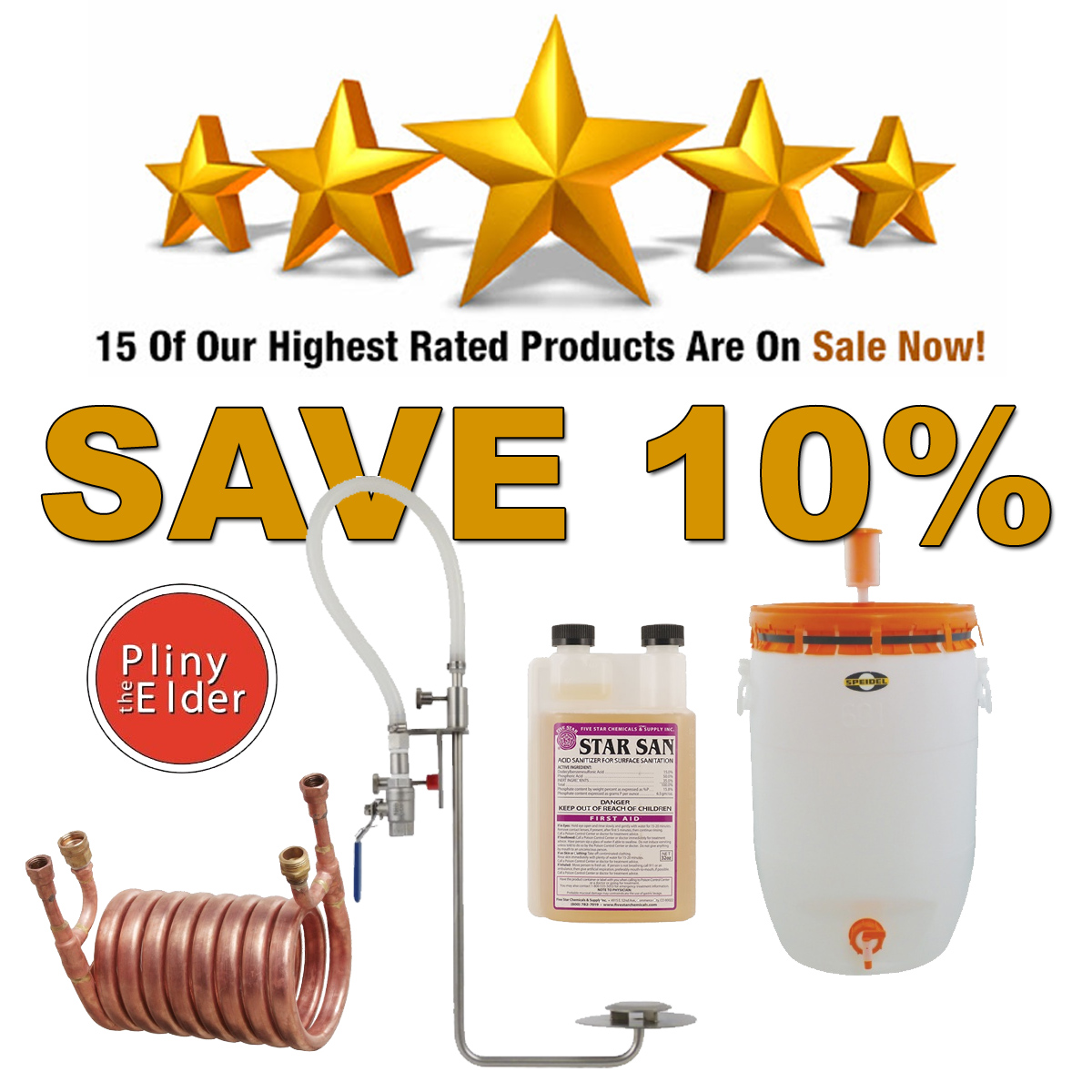 Save An Additional 10% On MoreBeers 15 Highest Rated Items Coupon Code