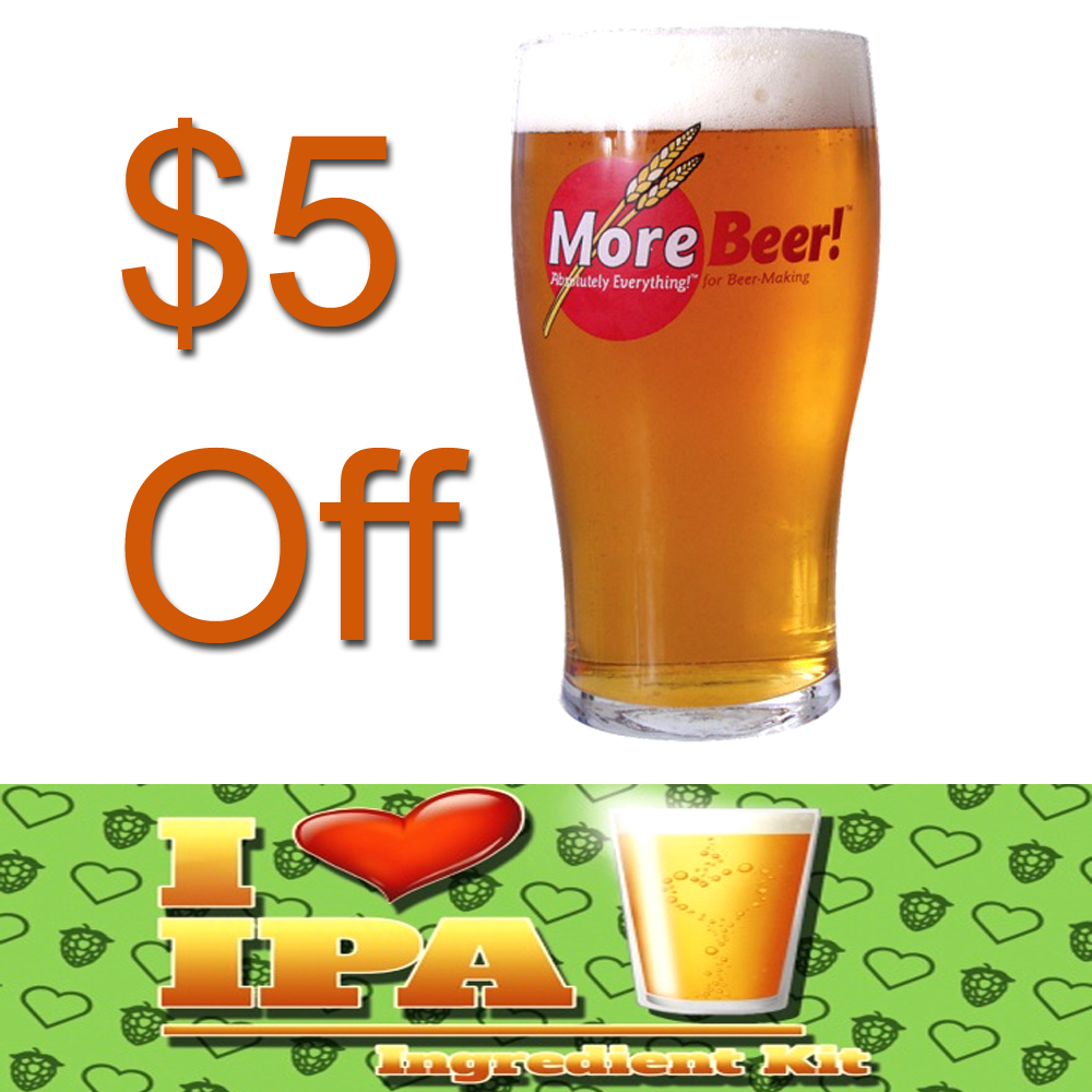 Save $5 On A I Heart IPA Beer Kit Today Only Coupon Code