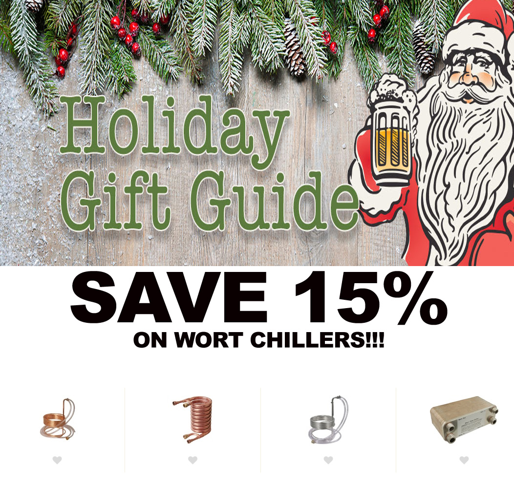 MoreBeer Save 15% On Wort Chillers At MoreBeer.com With This More Beer Promo Code Coupon Code