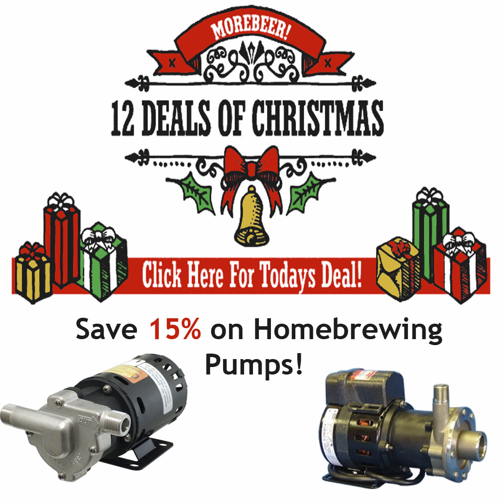 Save 15% on Homebrewing Pumps! Coupon Code