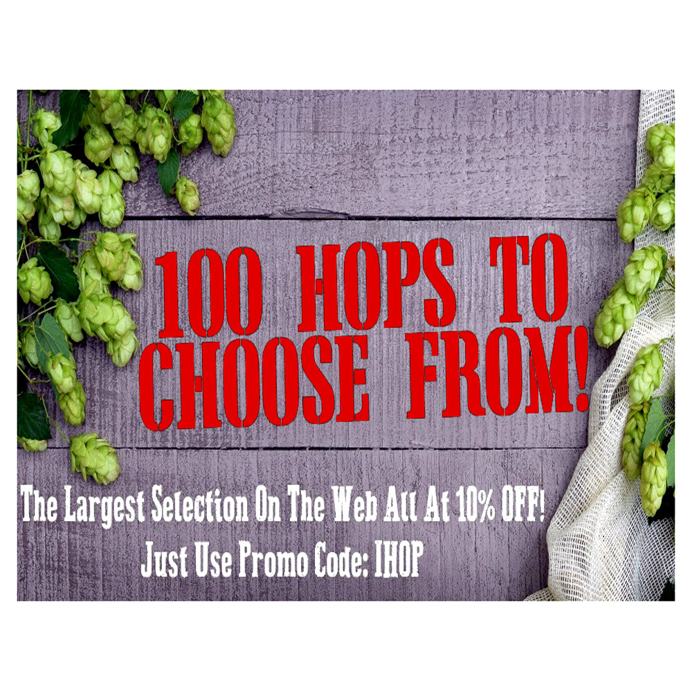 Save 10% On Your Hops!  Today Only With This MoreBeer Coupon Coupon Code