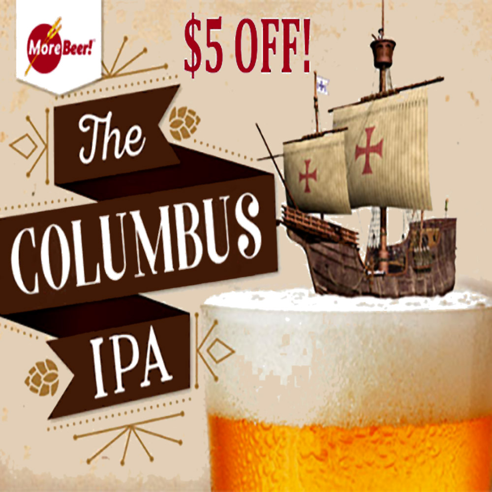 Save $5 On Columbus IPA Beer Kits Coupon Code