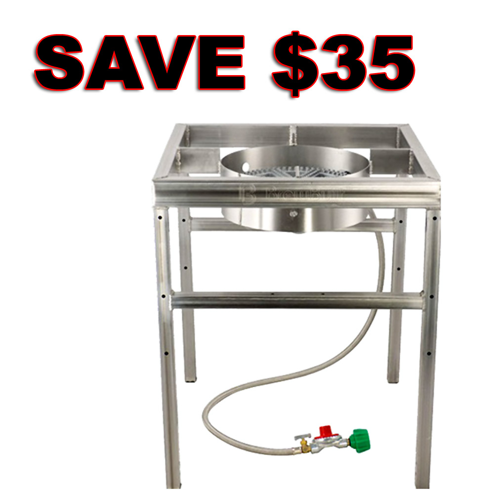 Save $35 On A Stainless Steel Home Brewing Burner and Stand Coupon Code