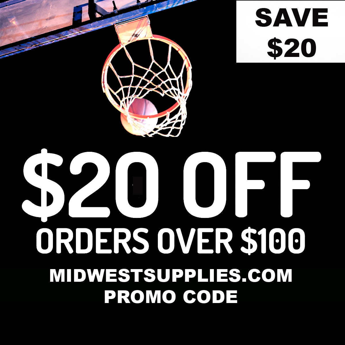 Midwest Supplies Save $20 On A $100 Order MidwestSupplies.com Promo Code Coupon Code