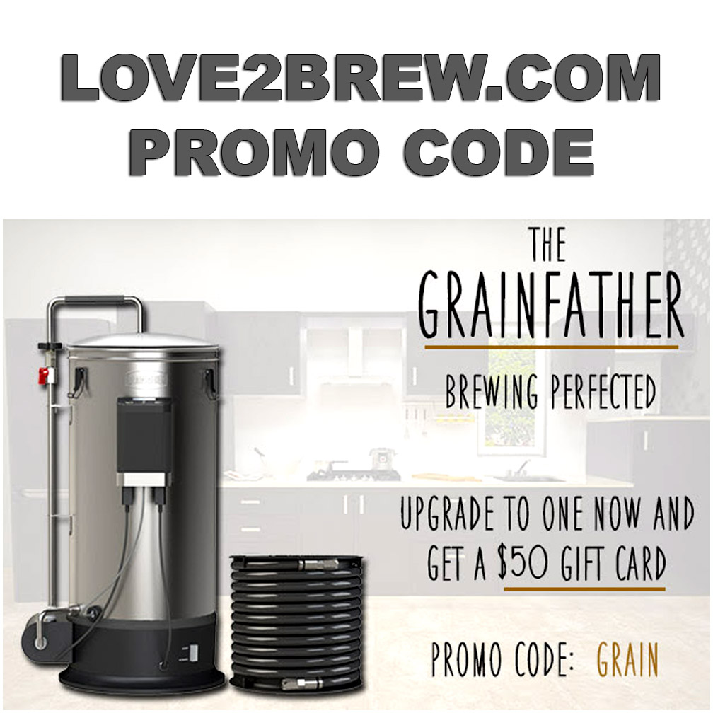Buy a Grain Father Home Brewing System and get a Free $50 Gift Card Coupon Code