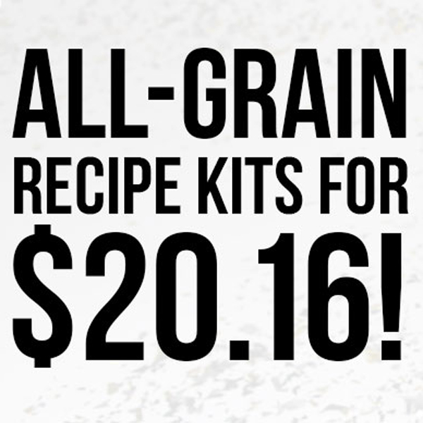 All Grain Beer Recipe Kits for Just $20.16 When You Buy 3 Coupon Code