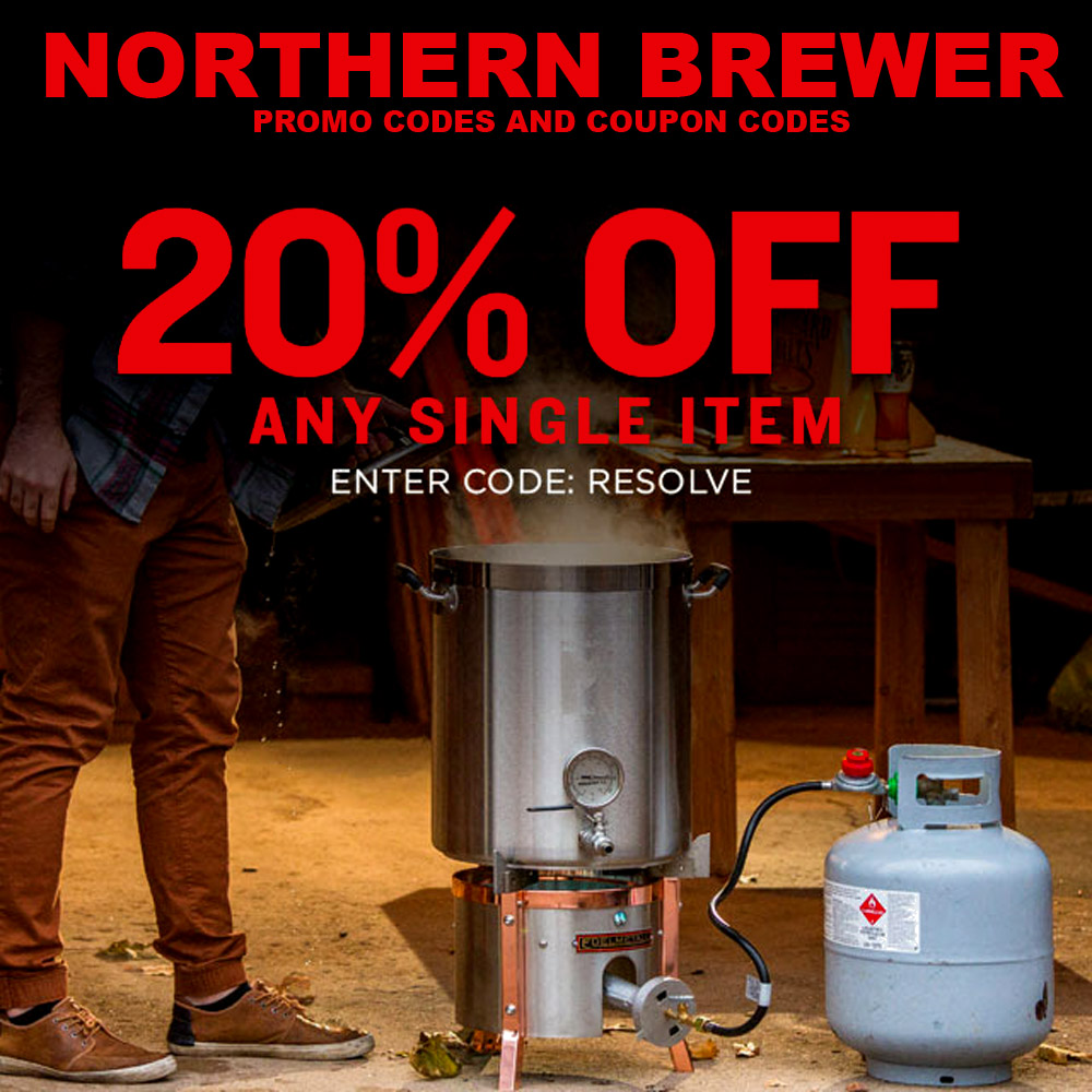 Save 20% On A Single Items at Northern Brewer Coupon Code