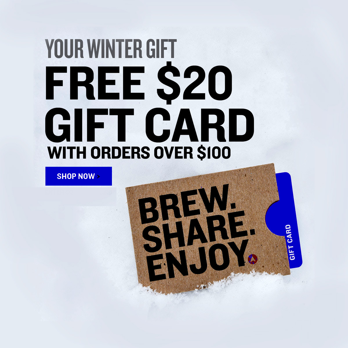 Northern Brewer Get a FREE $20 NorthernBrewer.com Giftcard with this Northern Brewer promo code Coupon Code