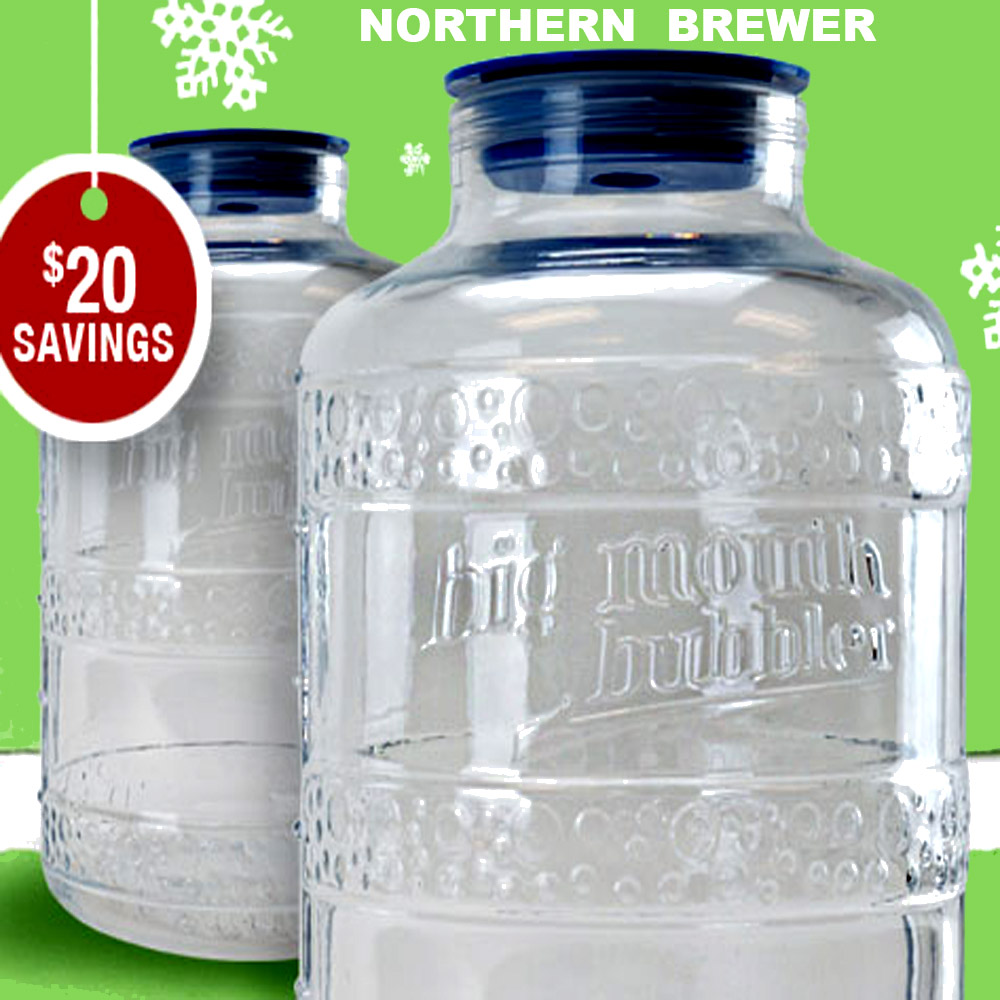 Big Mouth Fermenters for $40 at Northern Brewer Promo Codes