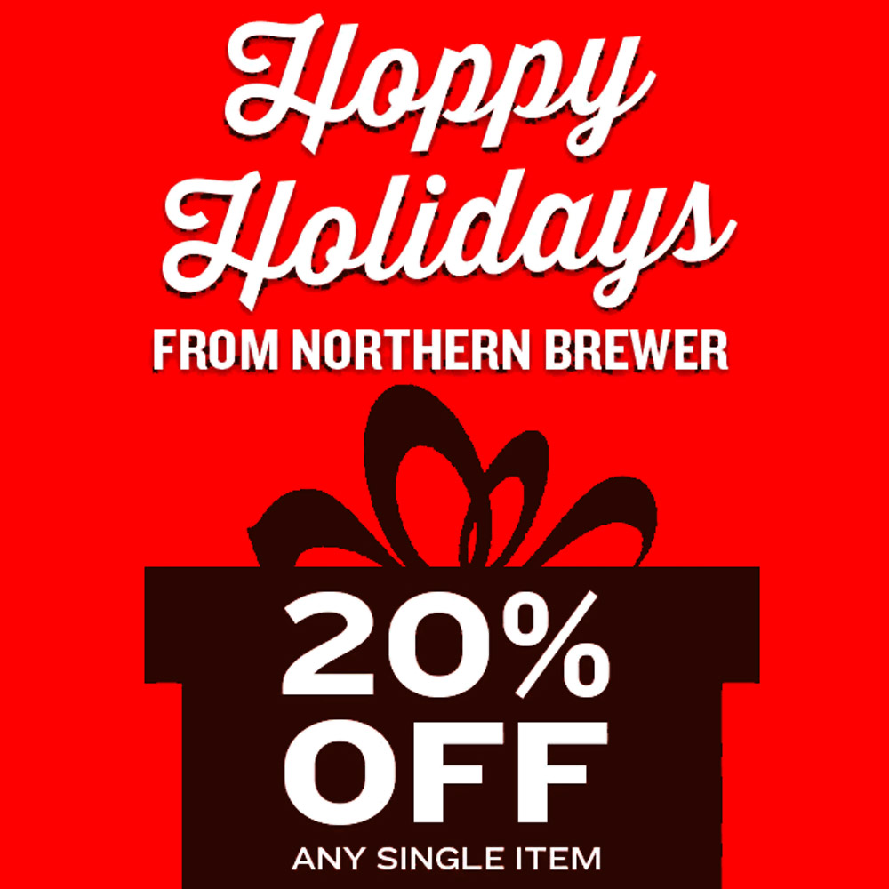 Save 20% On A Single Homebrewing Item Coupon Code