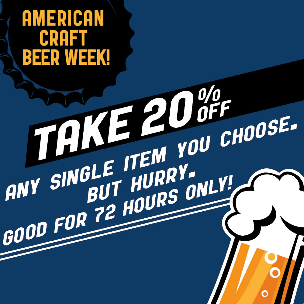 Take 20% Off A Single Item NorthernBrewer.com Coupon Coupon Code