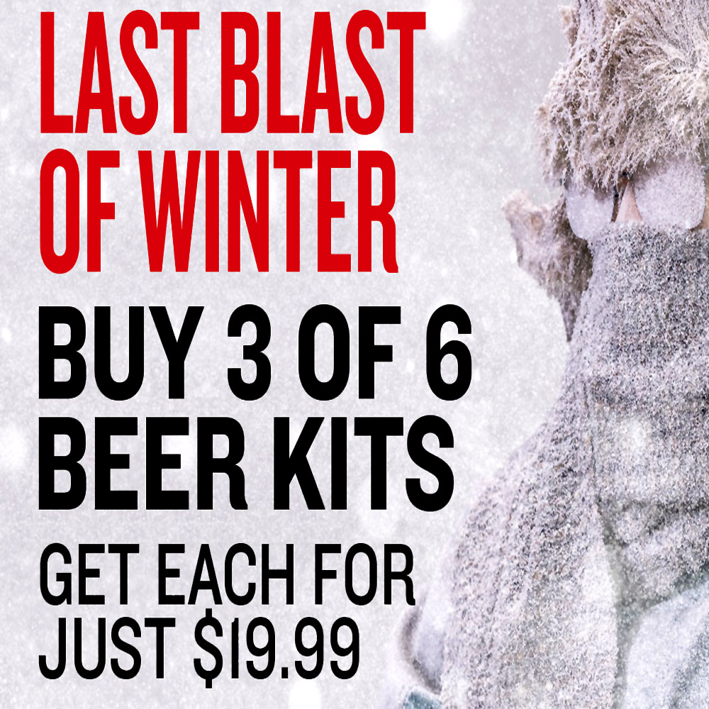 Get 3 Select Beer Kits For Just $19.99 Each Coupon Code