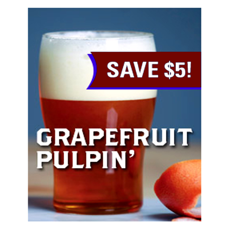Save $5 On a Grapefruit Sculpin Clone Extract Beer Kit Coupon Code