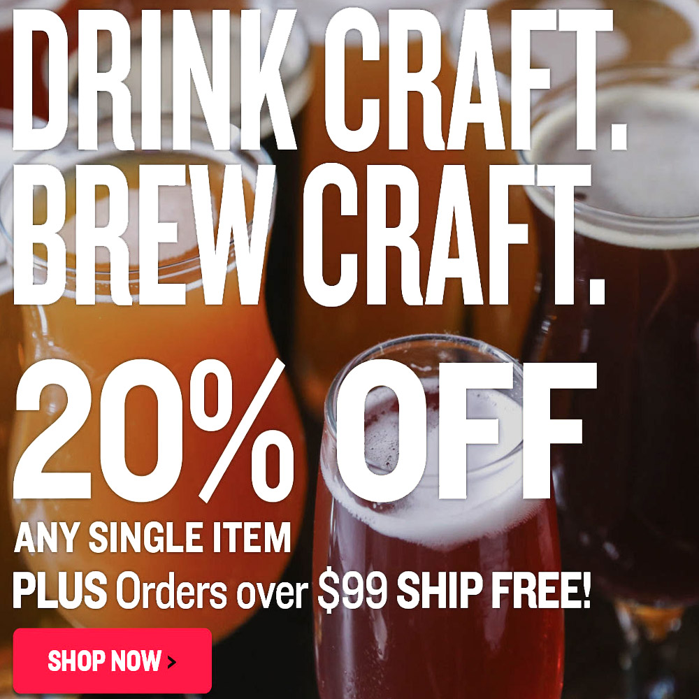 Homebrewing conical fermenters and stainless steel fermentors for Save on crafts promo code